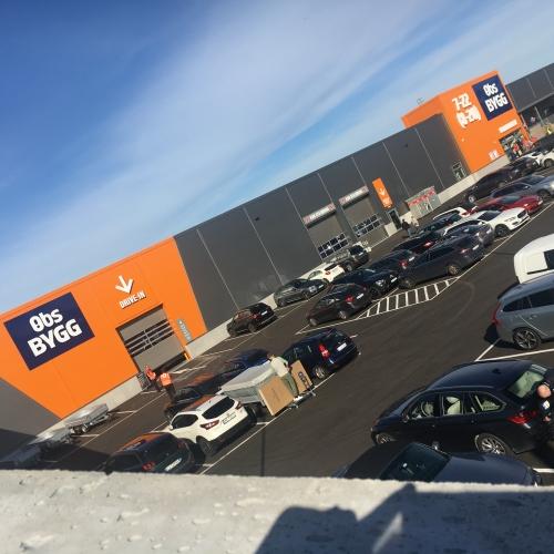 Coop Obs! bygg - byggevarehus på Fokserød Sandefjord
